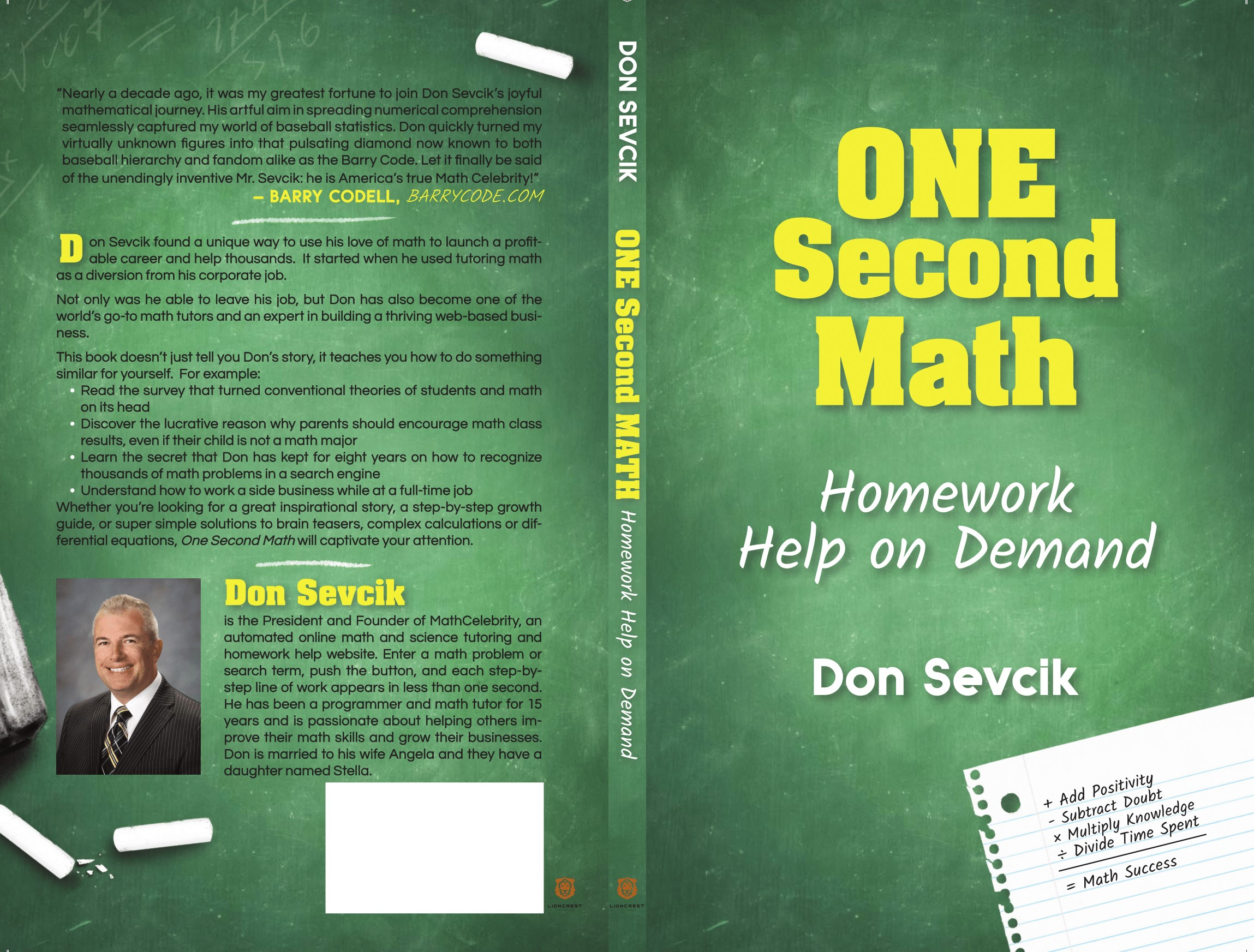 One Second Math Book